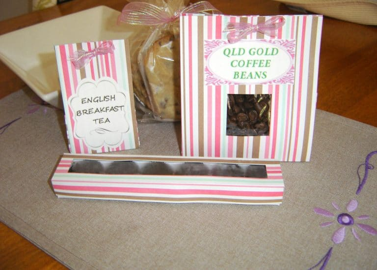 Handmade Treat Bags and Gift Boxes