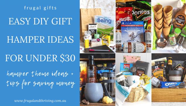 easy diy gift hamper ideas