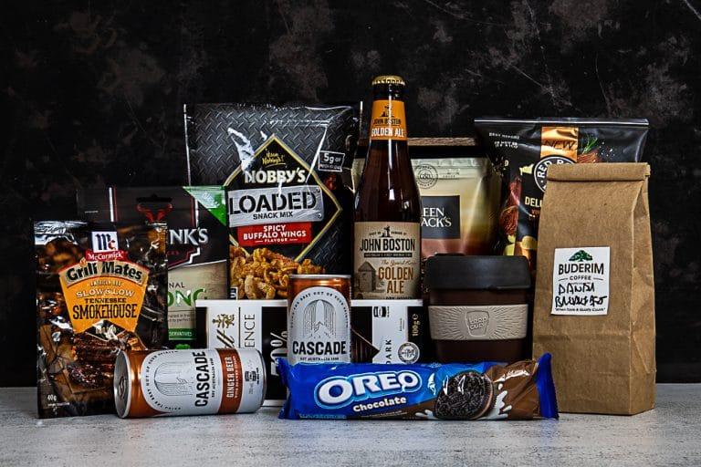DIY Gift Basket For Men – Men's Food Gift Hamper