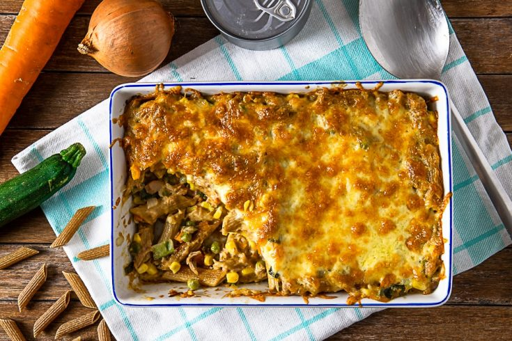 old fashioned tuna casserole
