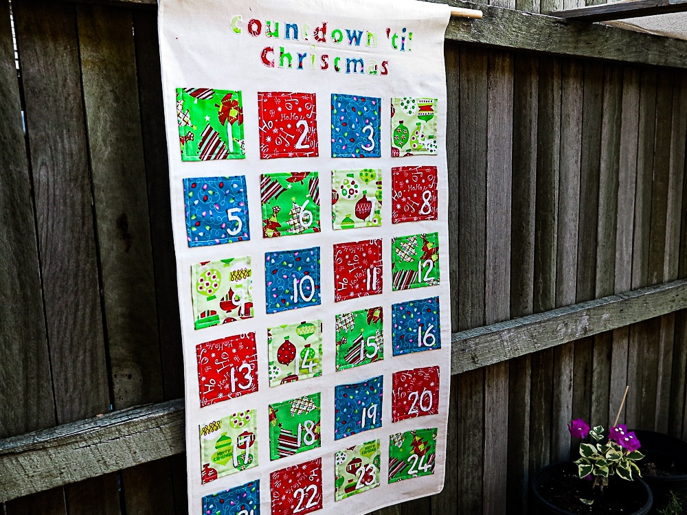 handmade advent calendar