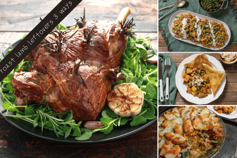 Three Ways to Use Leftover Roast Lamb